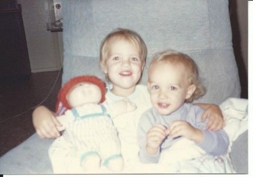 my kids in my chair 20+ yrs ago