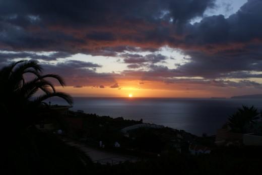 Sunset on Madreira Credit:Samuel Rosa