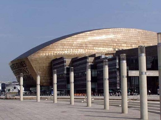The Wales Millennium Centre, Cardiff