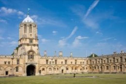 Tom Quad, Christ Church College, Oxford