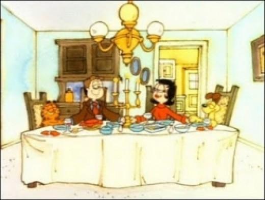 Garfield Thanksgiving Dinner
