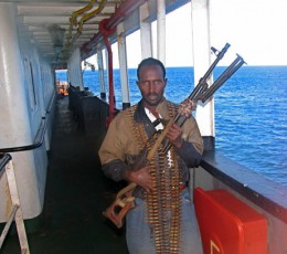 Love the slimming look of the bullets but come on Somali Pirate...