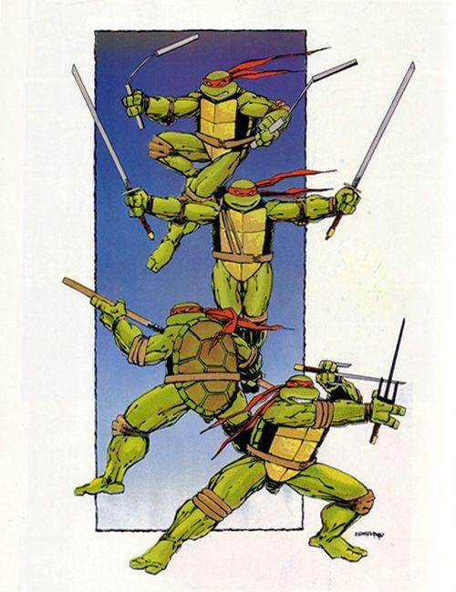 Teenage Mutant Ninja Turtles by Eastman and Laird