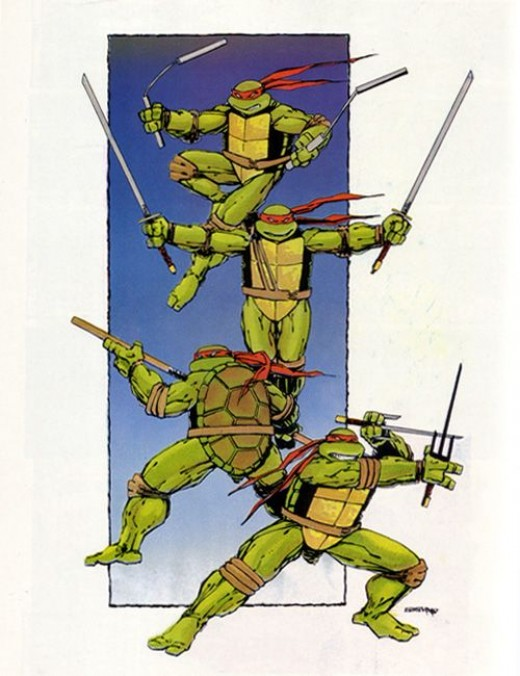 Teenage Mutant Ninja Turtles by Eastman and Laird