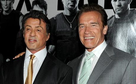 Sly and Arnold, my idols