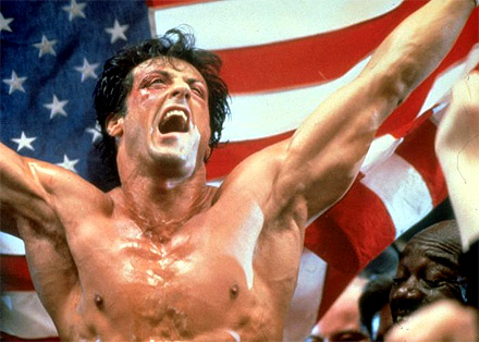 Sylvester Stallone in Rocky IV