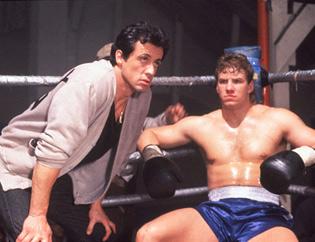 Tommy Morrison in Rocky V