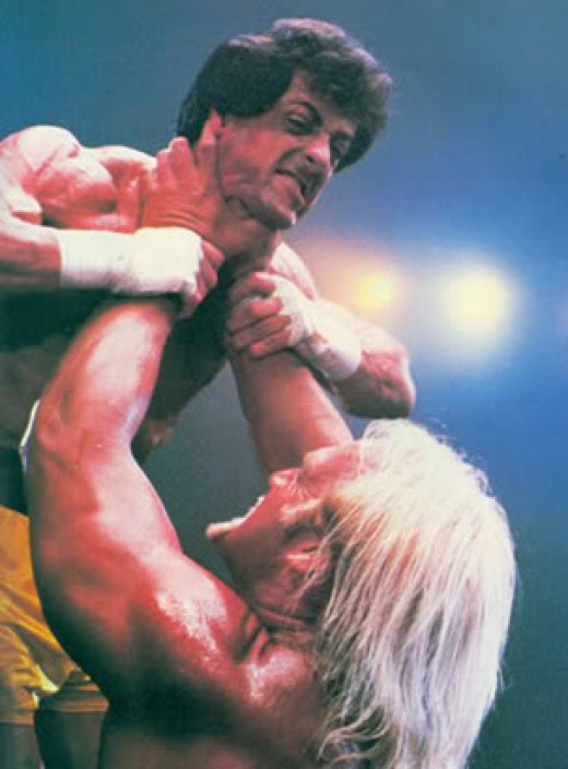 Hulk Hogan as Thunderlips in Rocky III