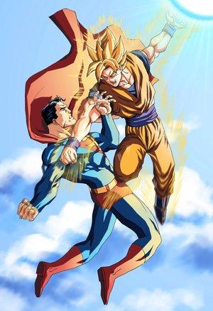 Superman vs Goku