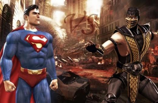 Superman vs Scorpion (Mortal Kombat)