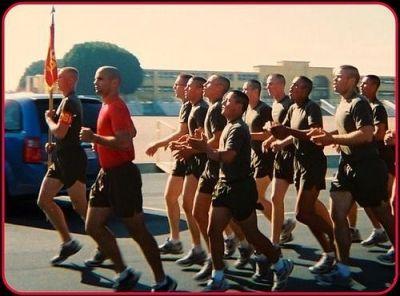 MCRD Family Day Motivational Run