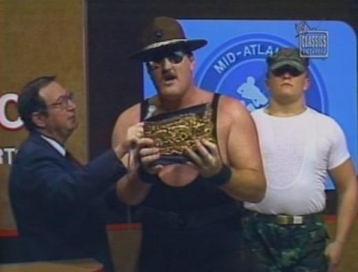 Sgt Slaughter wrestling