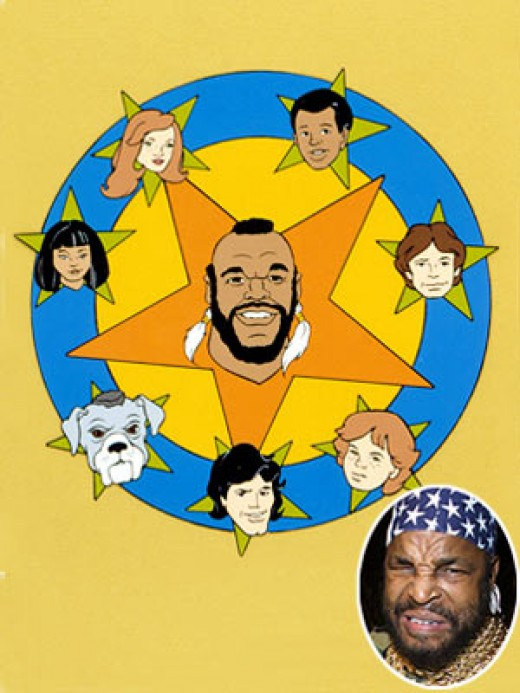 Mr. T Cartoon