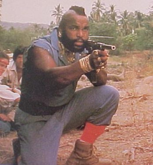 Mr. T as B.A. Baracus