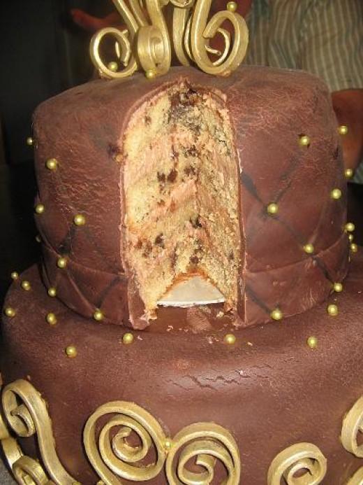 Freckled Mocha Cake