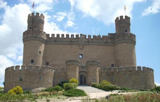 Mendoza Castle, Manzanares el Real