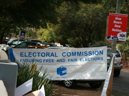 The elections are run by the Independent Electoral Commission, which was set up in December 1993, just months before the 1994 elections