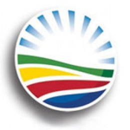 The logo of the DA