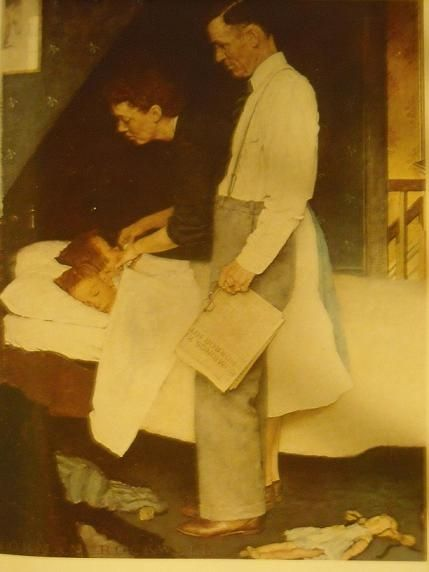 Norman Rockwell - Freedom from Fear
