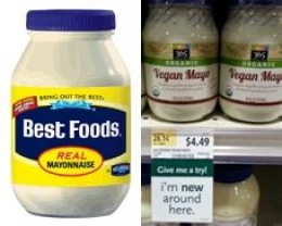 Add Best Foods mayonnaise, about 3 - 4 large salad spoonfuls.For Vegans: Use egg-free mayonnaise, such as Hain's or Vegennaise.