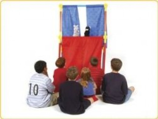 Toobeez Puppet Stage TBZ57B: