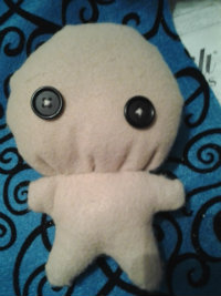 A better one, My second plushie using someone's plushie pattern.