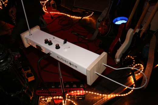 An odd instrument called a theremin