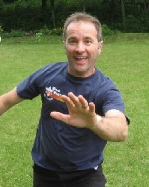 Me playing tag, click HERE to view my free activity blog...