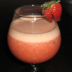 Strawberry-Orange Juice Smoothie