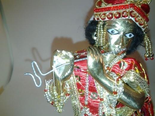 make krishna's flute