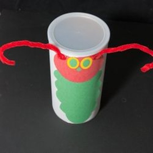 The Very Hungry Caterpillar Story Prop