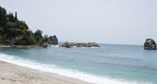 Just one of the amazing beaches found around the Parga area, each one seemingly more attractive than the last.