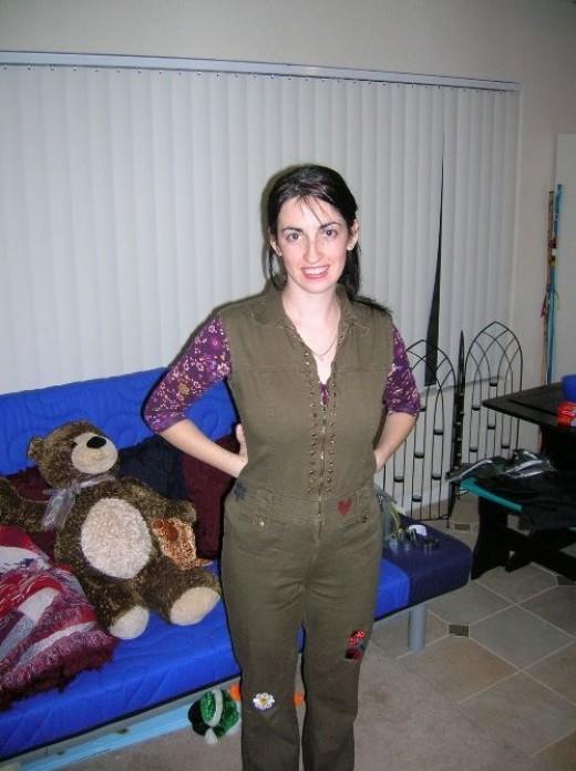 Me on Halloween 2005