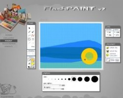 Click to Go To Flash Paint