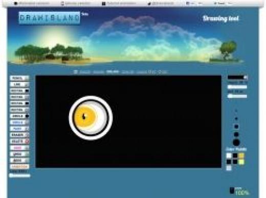 Click to Go To Draw Island