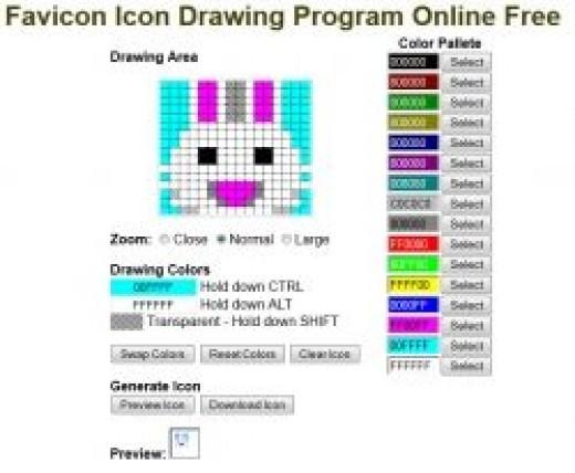 Click to Go To Favicon
