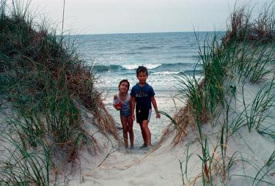 Me in 1987 at Garden City Beach