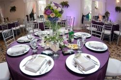 Wedding reception at the St Petersbrug Womens Club, wedding venue in St Petersburg, FL