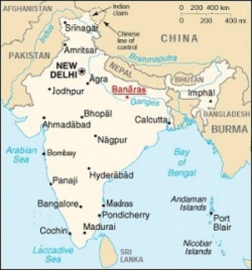 Varanasi - Banarsi Brocade