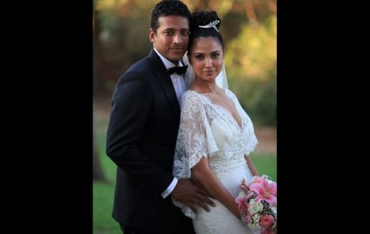 Lara Dutta Wedding Outfit