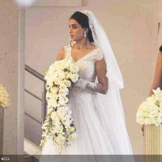 Genelia D'Souza Wedding Dresses