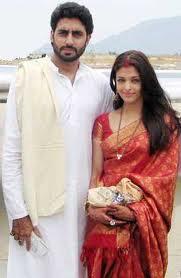Aishwarya Rai in a beautiful red coloured saree