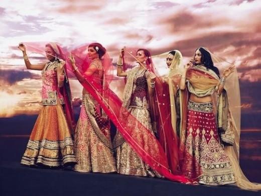 Tarun Tahilliani Bridal Wear