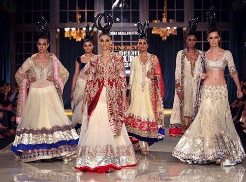 Manish Malhotra Collection at Lakme Fashion Week