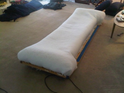 new couch batting