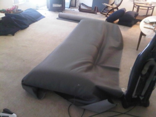 covering old couch