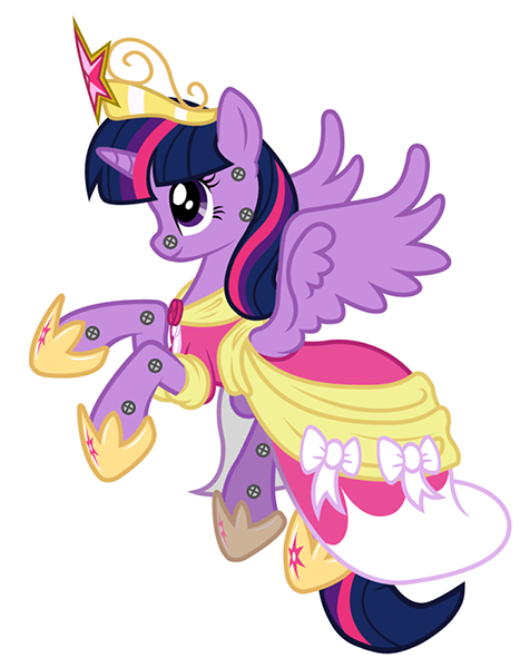 Princess Twilight Sparkle as she appears on her television show.