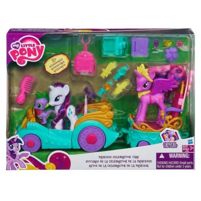 Here's another view of MLP Celebration Cars Set