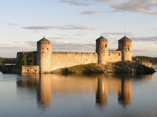 Olavinlinna - photo courtesy of MEK Finnish Tourism Board