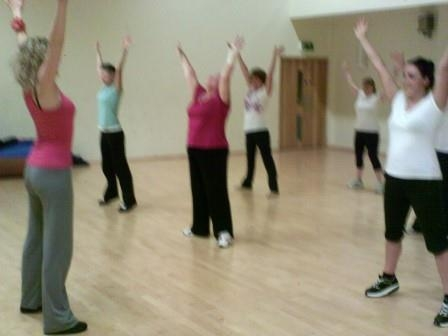 My Thursday Zumba class in Hailsham.